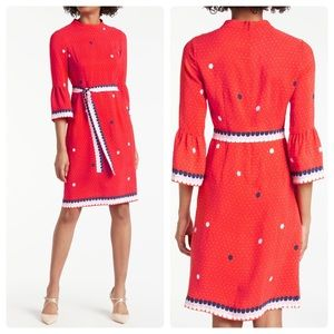 Boden Armelle Spot Print Dress